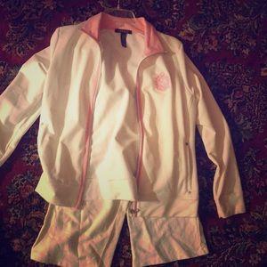 Ralph Lauren Polo white women's jumpsuit
